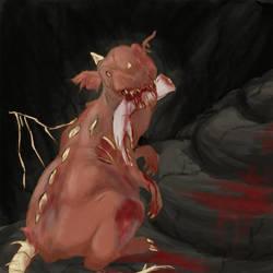 Dragon Zombie wtf by RushioruSama