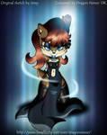 Sally The Water Goddess by dragon-nexus