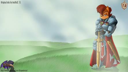 Sally The Knights Emerald by dragon-nexus