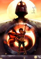Iron Giant by SanArchy