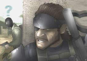 Big Boss - Metal Gear Solid: Peace Walker by MatthewHogben