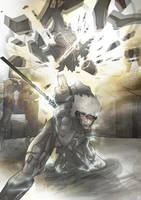 Metal Gear Rising: Revengeance by MatthewHogben