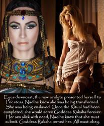 Goddess Raksha - the Ritual by zorkmeister