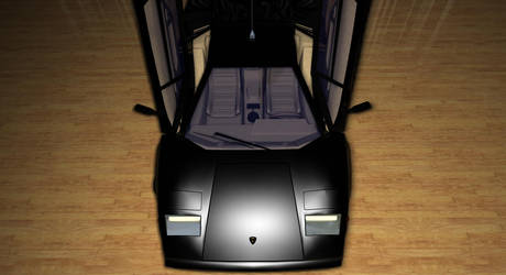 Lamborghini Countach-6 by TheRedCrown