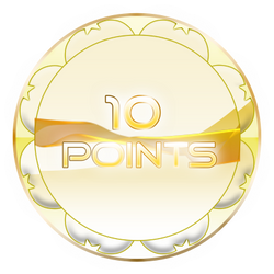 10 Points Coin by TheRedCrown