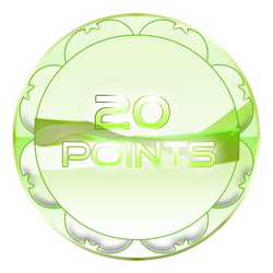 20 Points Coin by TheRedCrown