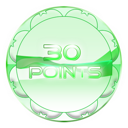 30 Points Coin by TheRedCrown