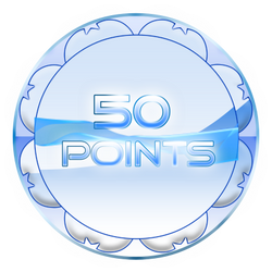 50 Points Coin by TheRedCrown