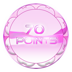 70 Points Coin by TheRedCrown
