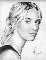 Kate Winslet HQ size DRAWING by riefra