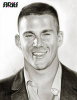 Channing Tatum smile by riefra