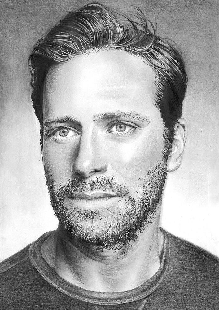 Armie Hammer by riefra