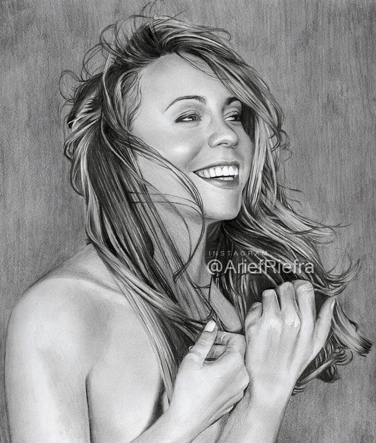 Mariah Carey by riefra