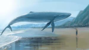 Blue Whale dream by AlexAmezcua