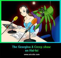 Georgina and Creep Show pic by Lanton