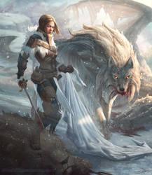 Lady Stark by StuArtStudios