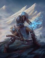 BattleMage, Fury of the NorthMen by StuArtStudios