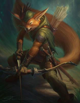 Robin Hood by StuArtStudios