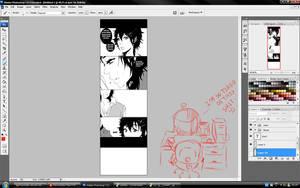 Sumaru x Kori Comic - WIP by nitchzombie