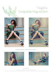 Nimfale's Turquoise Fog Action by Fiesolany