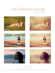Soft Rainbow psd-file by Fiesolany