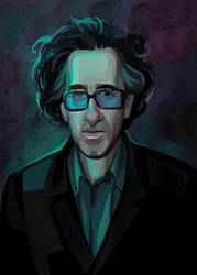 Tim Burton by Fiesolany