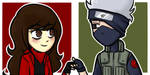 _PC:Icons-JoanAndKakashi_ by RobicTheEscapist
