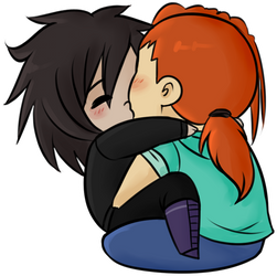 _YCH:Smooch_ by RobicTheEscapist