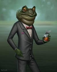 The Dapper Mr Toad by benscott81