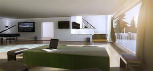 A living room by villekroger