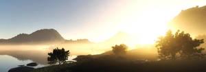Morning calm by villekroger