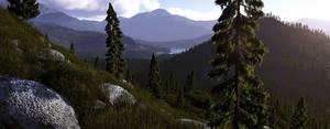 The hills by villekroger
