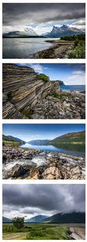 The Fjord Quadriptych by villekroger