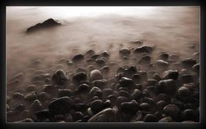 The evening waves by villekroger