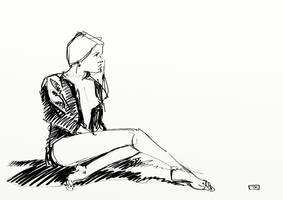 daily sketch 3 - 160415 by Creativetone