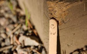 Happy sunny stick by Creativetone