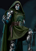 Dr. Doom by Digraven