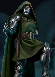 Dr. Doom by Digraven