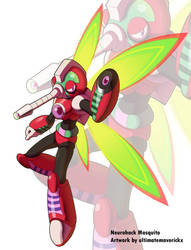 MMX Corrupted - Neurohack Mosquito by ultimatemaverickx