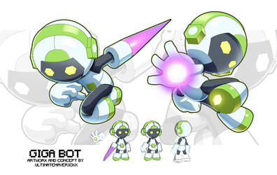 Giga Bot Concept by ultimatemaverickx