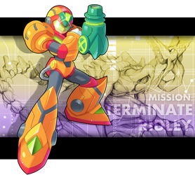 Commission: X - Power Suit Armor by ultimatemaverickx