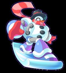 Commission: Snow Man by ultimatemaverickx