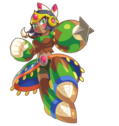 Commission: Bow Woman by ultimatemaverickx