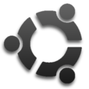 Dark Ubuntu Logo by JackC64
