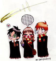 .:the trio:.-StrangerwithCandy by harrypotterclub