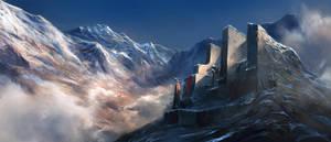 The Mountains by czarnystefan