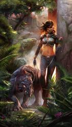 Walk On The Wild Side by czarnystefan