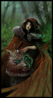Little Red Ridding Hood by czarnystefan
