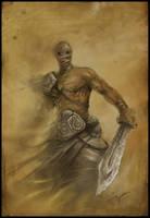 Desert warrior by czarnystefan