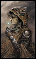 witch by czarnystefan